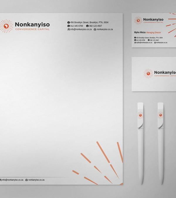 NONKANYISO stationery 1